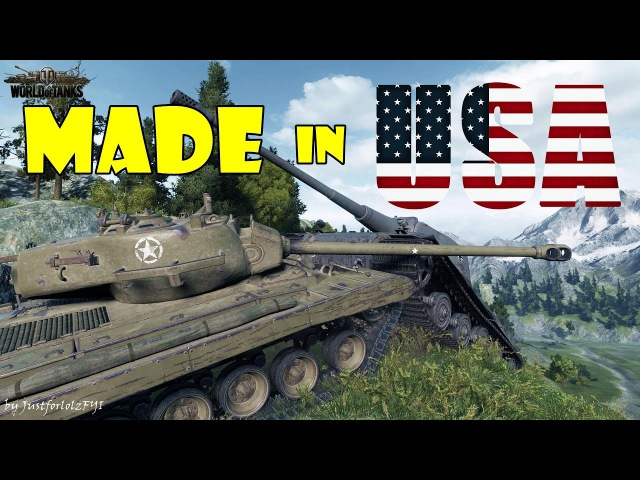 World of Tanks - Funny Moments | MADE IN USA! (world of tank, приколы, моды, читы, wot)