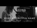 Hillsong - What a beautiful name // acoustic cover // by Jesus Karabanov and Sophia Mishina