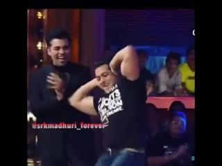 Салман, Мадхури, Карина, Каран Chikni Chameli