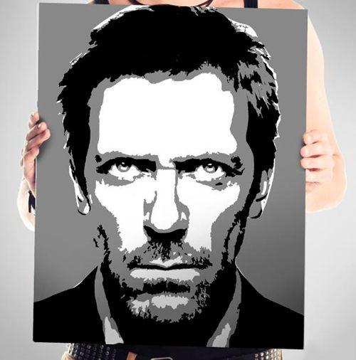 Портреты в стиле PopArt