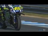MotoGP 2016 round 15 Motegi - падение Валентино Росси