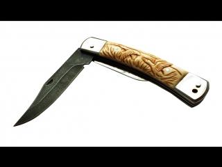 Cкладной нож Соболь 2-х предметный.