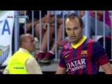 ЧИ 2013-14 | 2 тур | Малага - Барселона 0-1 | 2 тайм