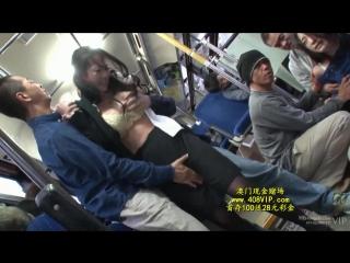 Три грудастых чирлидера, устроили оргию в автобусе  332594