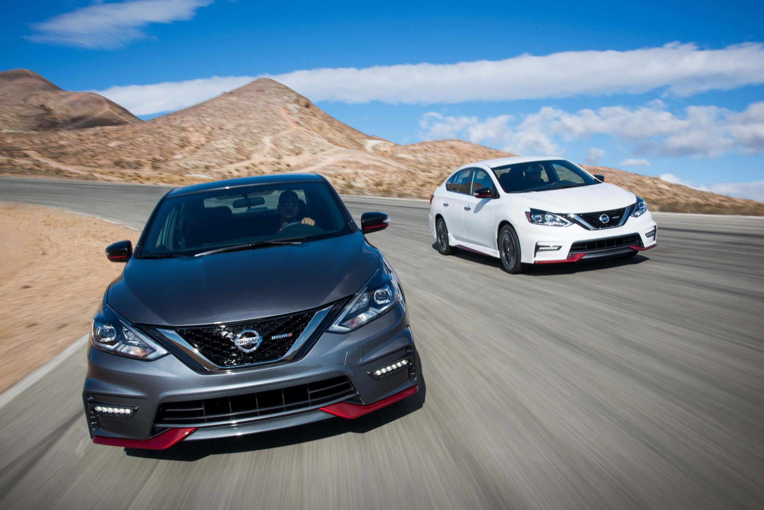 Nissan Sentra Nismo: четырёхдверный хотхэтч для Америки