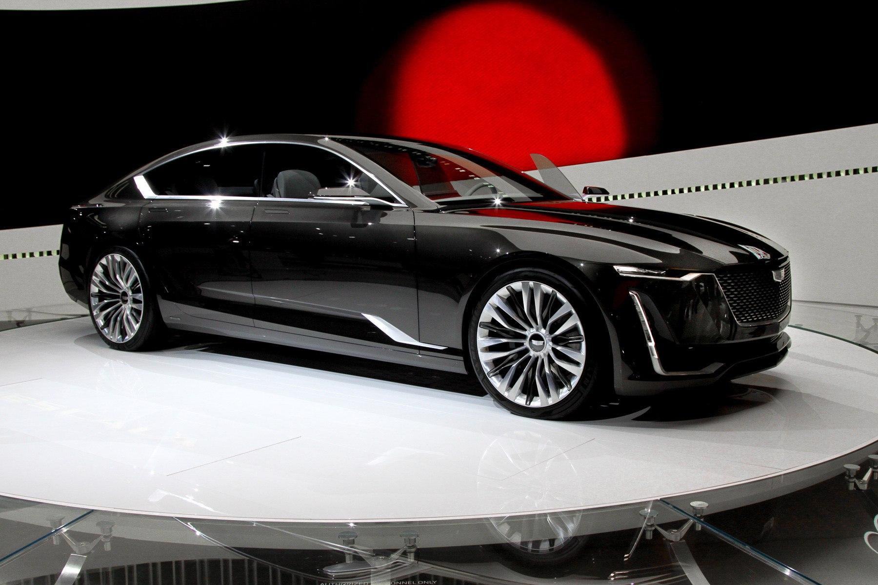 Cadillac Escala: американцы переходят на хэтчбек