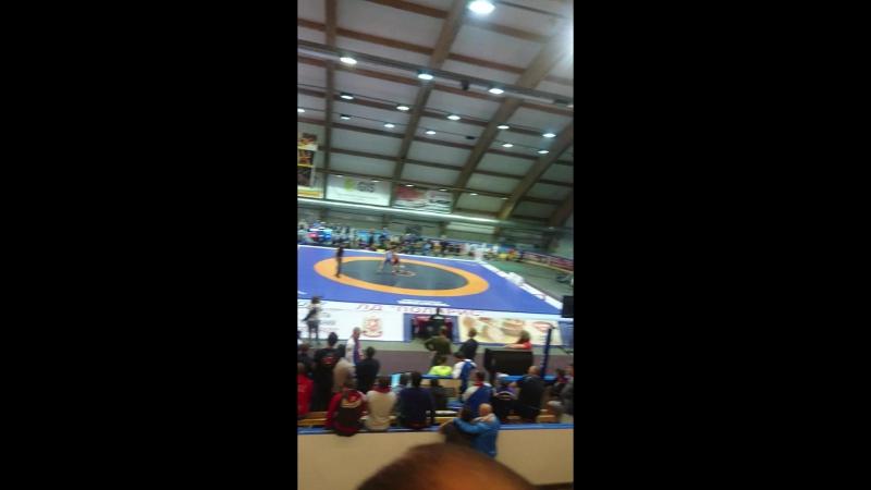 Чемпионат России по греко-римской борьбе 2017 (Атмосфера в ледовом)