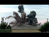 Удар по бункеру ИГИЛ в Сирии. Боевики врассыпную