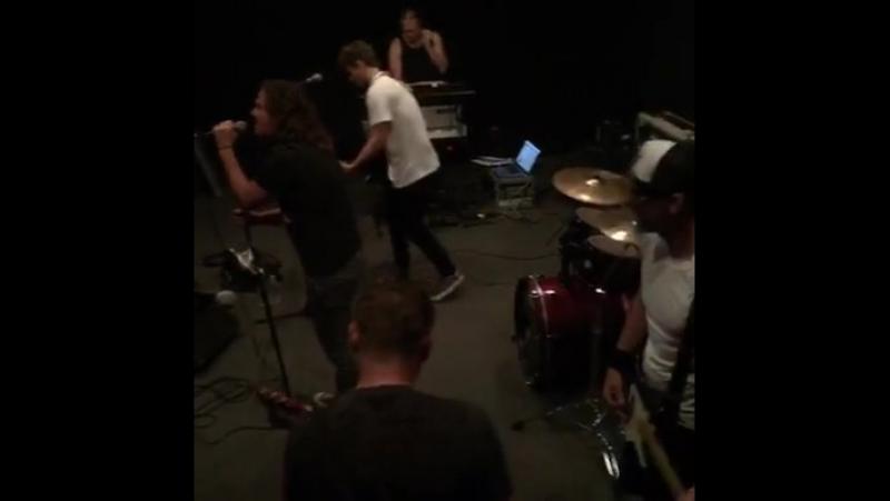 Wesley Geer - Rehearsal....