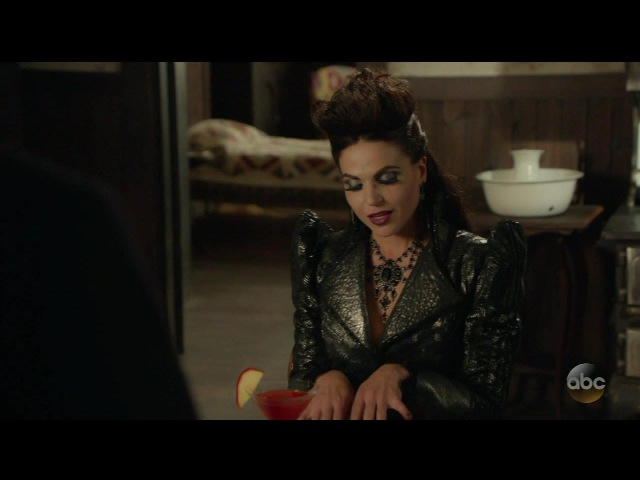 Once Upon A Time 6x06 Rumple and Evil Queen Season 6 Episode 6 Dark Waters