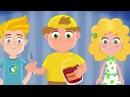 Мультфильм про спорт - Спортания - Здоровый образ жизни 1 серия. Обучающие мультфильмы для детей