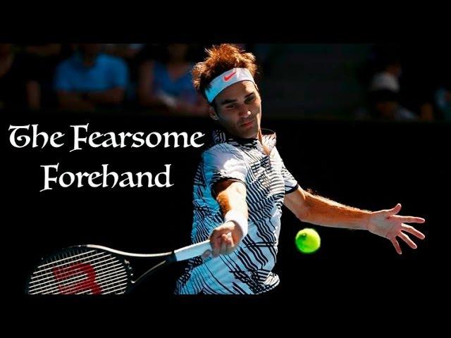 Roger Federer The Fearsome Forehand Australian Open 2017