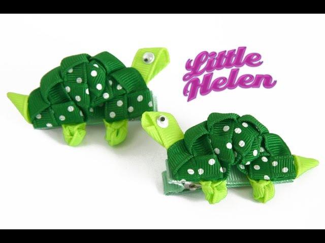 Cómo hacer una tortuga con cinta gross