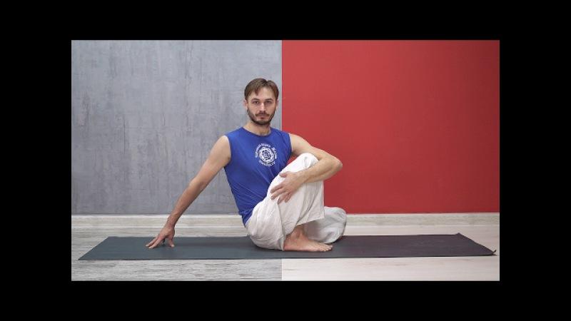 Комплекс Хатха йоги. Сила и статика (преподаватель йоги Роман Косарев oum.ru)