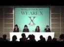 2017/06/09 X JAPAN 記者会見現場から生中継(無料部分のみ・コメントあり)