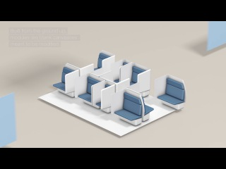 How Airbus A3's Transpose Modular Cabin Concept Works