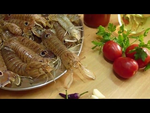 Раки Богомол как Приготовить Canocchie Ricette in Padella