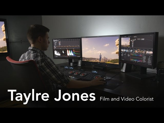 Taylre Jones Film and Video Colorist from LinkedIn