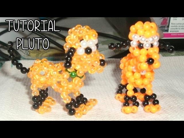 Pluto de Miçangas - Passo a Passo