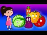 Растительная песня Научиться овощам Песни для детей Vegetable For Kids Vegetable Song