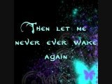 Evanescence -- Before The Dawn LYRICS