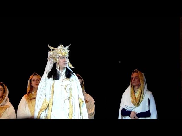 04. Бой гладиаторов. Арена. Месса короля-жреца (Последнее Испытание, 06.02.16г.)