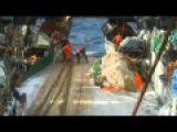 Мужская работа рыбаки в северном море