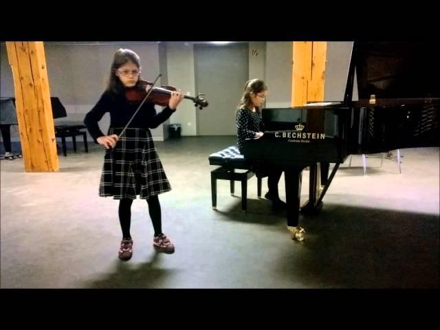 Bechstein Wettbewerb 2015 - Maya Wichert und Sonja Uhlmann 1. Preis - Schubert
