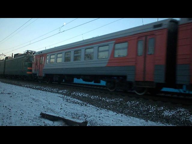 Перегонка электромотрисы-гибрид ЭР2-1314