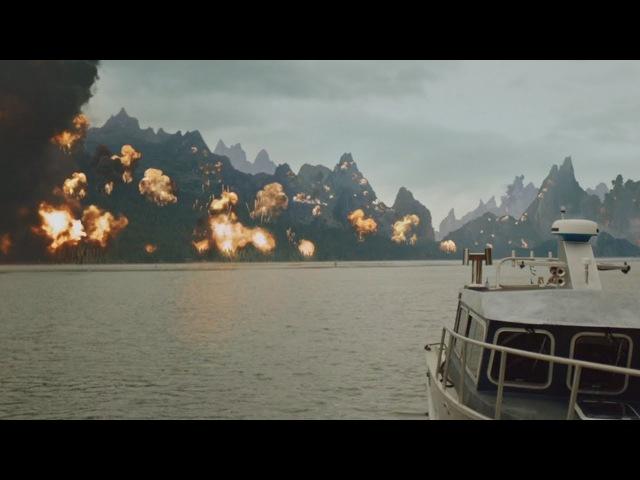 Стрела Уничтожение острова вместе с друзьями Оливера. Или (Я не верю в их смерть)
