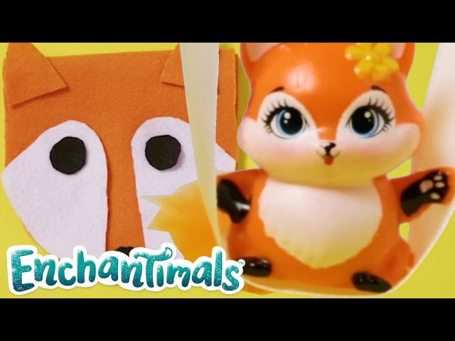 Enchantimals | How To Make Animal Purses with Felicity Fox Doll and Bree Bunny Doll