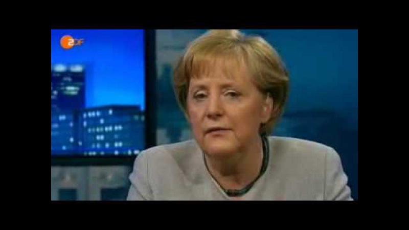 Illuminaten Angela Merkel gibt zu eine neue Welt zu bauen ( Bilderberg, NWO, Neue Welt Ordnung )