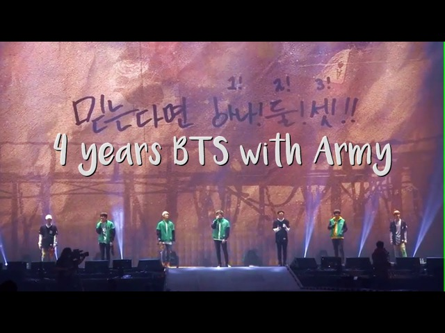 Story of Bangtan ❤ 4yearsBTSwithARMY