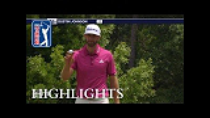 Dustin Johnson extended highlights   Round 1   Wells Fargo