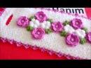 Çiçekli uzun lif yapımı