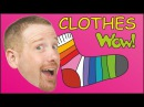 Getting Dressed Clothes for Kids English Stories for Kids from Steve and Maggie
