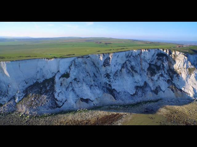 Beachy Head in 4k by drone