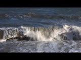 Крым. Алушта сегодня (09.02.2017) - шторм, серфинг