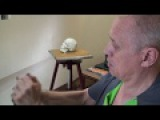 Уроки скульптуры и рисунка: лепка черепа человека, часть 4 (завершение набора мас...