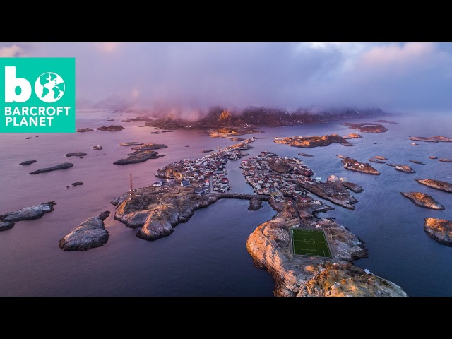 Bird's Eye View Of Norway's Picture Perfect Lofoten Islands