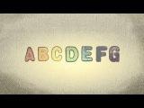 ABC Song german - Learn german for kids - German Alphabet Song - German alphabet