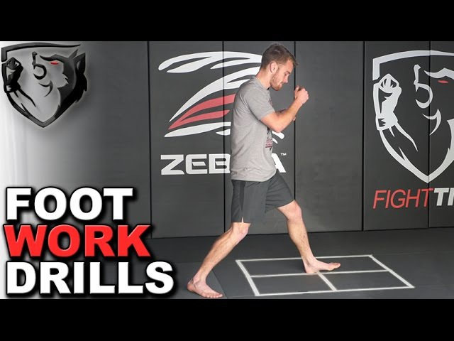 Boxing Footwork Drills for Creating Angles, Distance, Agility