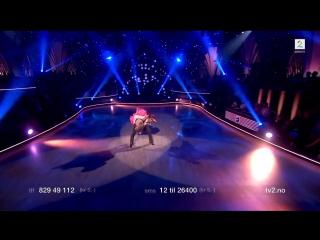 Cengiz's first dance in Skal vi danse   skamfamily