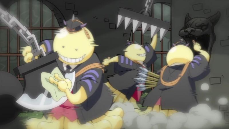 [SHIZA] Квест Коро-сэнсэя! Koro-sensei Quest! ONA - 11 серия [Snowly Тань-УХ-а] [2017] [Русская озвучка]