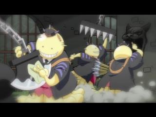 [SHIZA] Квест Коро-сэнсэя! / Koro-sensei Quest! ONA - 11 серия [Snowly & Тань-УХ-а] [2017] [Русская озвучка]