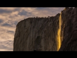 Horsetail Falls Firefall in Yosemite