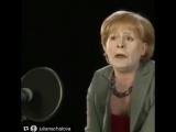 Это шедевр??? новая версия Танюхи #онегин #меркель #путин #россия #шедевр