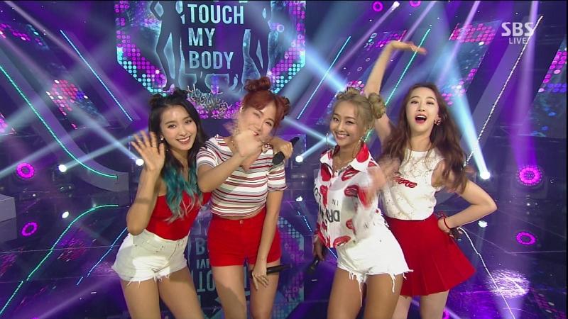 [Special Goodbye Stage] 170604 SISTAR (씨스타) - SHAKE IT I Swear Touch My Body Lonely