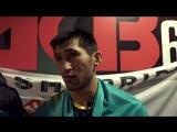 Интервью Армана Оспанова после победы на ACB 61