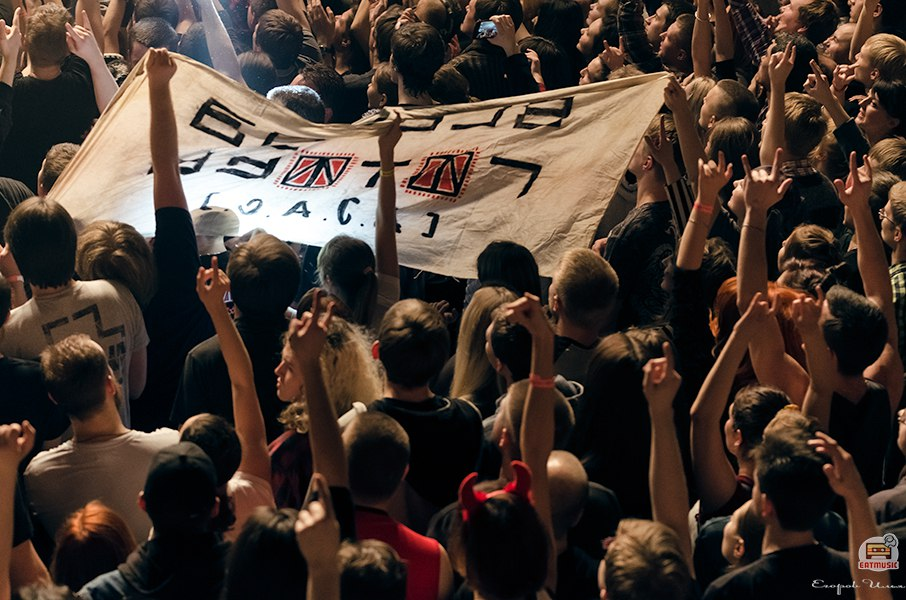 Концерт группы СЛОТ в клубе RED: юбилей альбома «Две войны»